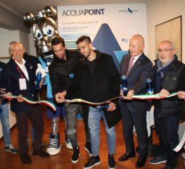Stadio Zini, inaugurato l'Acqua Point di Padania Acque