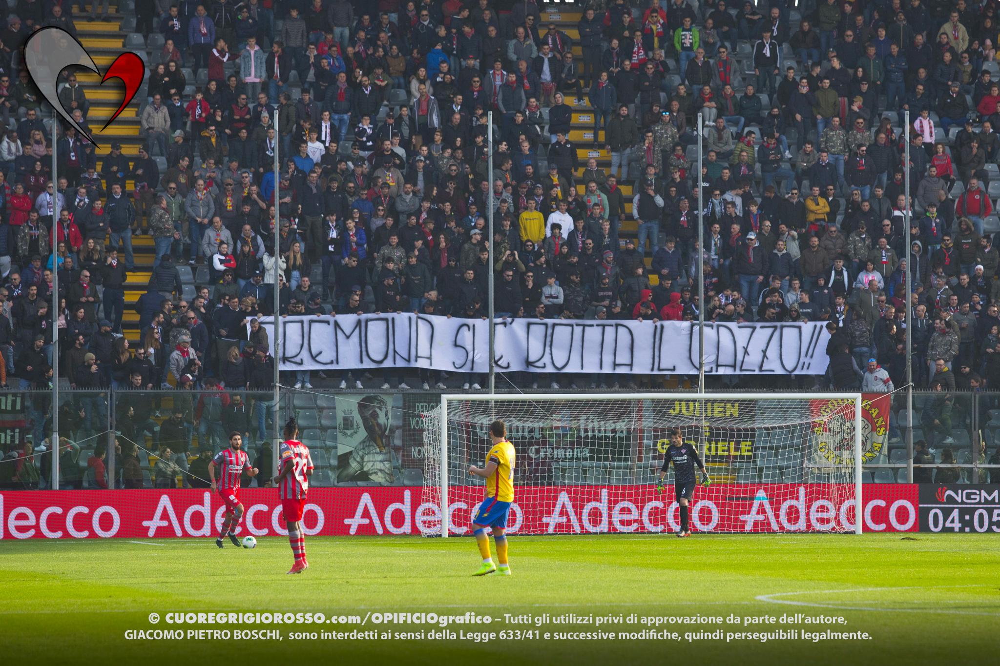 Cremo, contestazione anche contro il Livorno