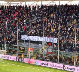 Cremo contestata nel match contro la Salernitana