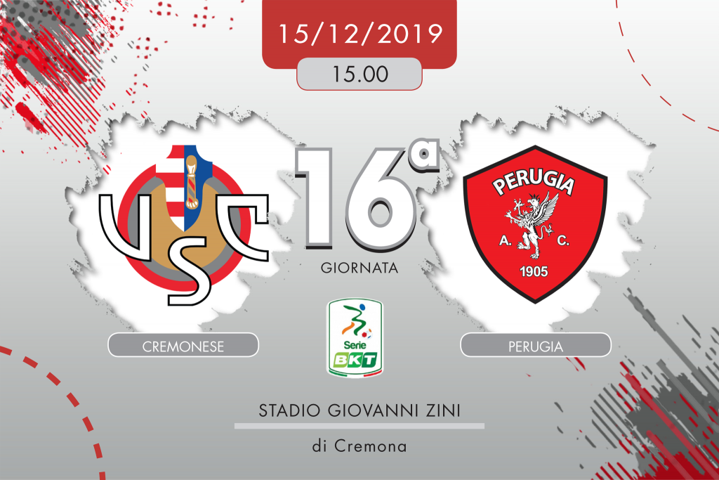 Cremonese-Perugia 2-1, tabellino e cronaca
