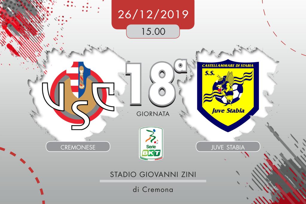 Cremonese-Juve Stabia 1-1, tabellino e cronaca