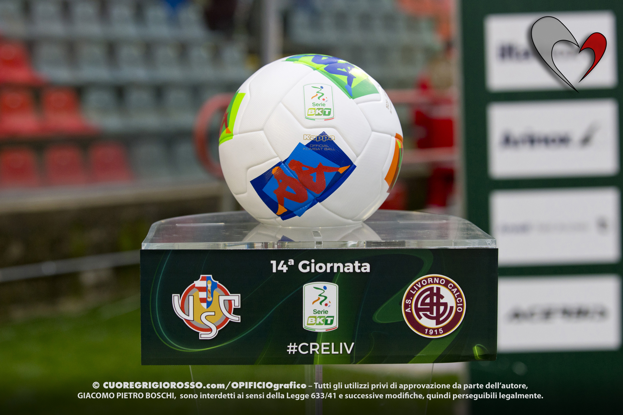 Serie B, Citta momentaneamente secondo in classifica