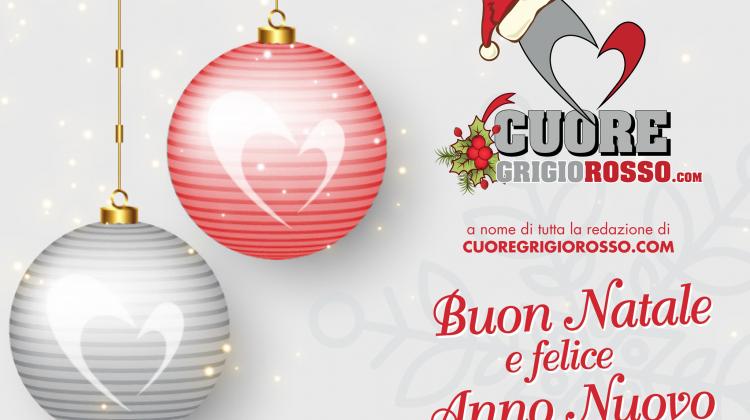 Buon Natale dalla redazione di CuoreGrigiorosso.com!