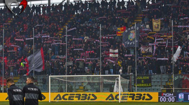 Cremonese-Venezia, le foto dei tifosi