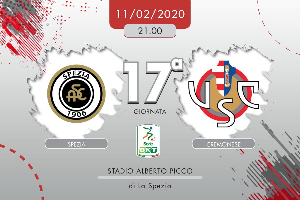 Spezia-Cremonese 3-2, tabellino e cronaca