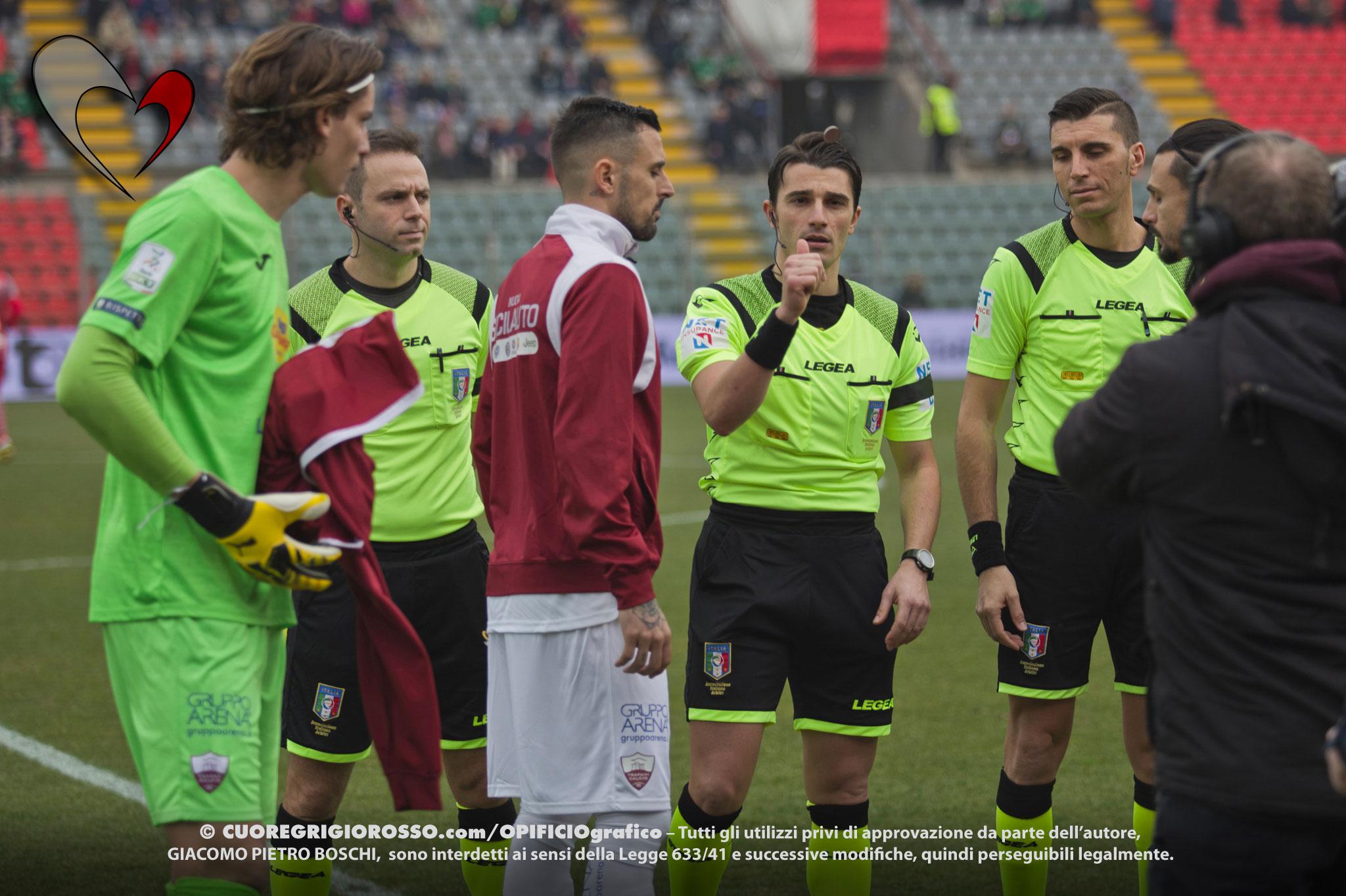 Serie B, Trapani ancora penalizzato in classifica