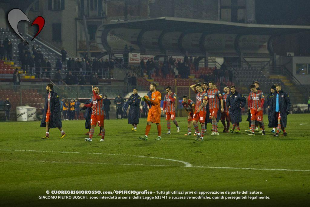 Cremo, squadra in ritiro dopo il k.o. di La Spezia