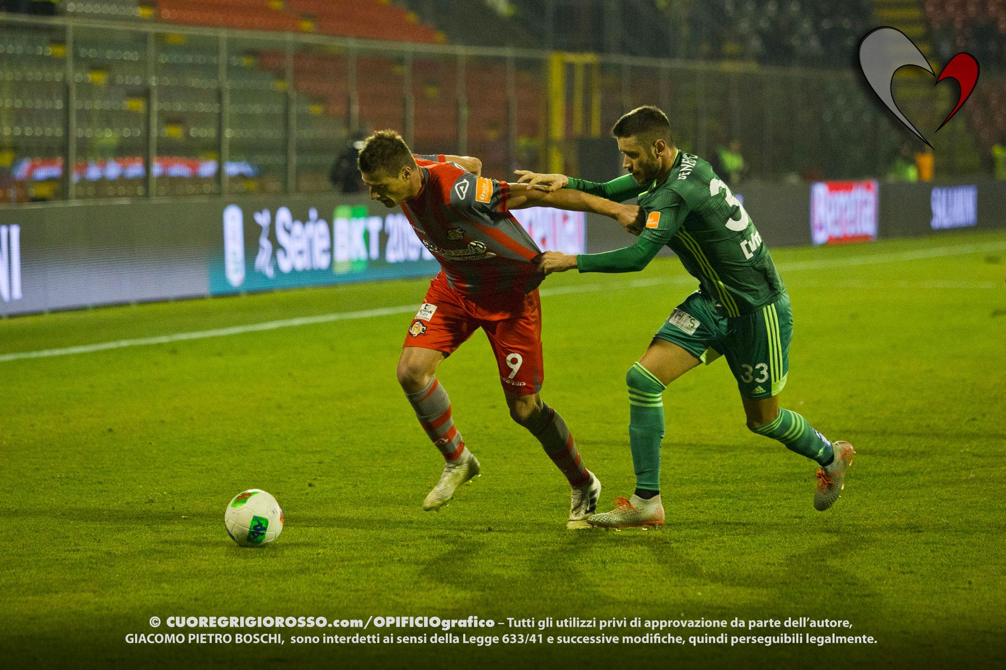 Ciofani: «5-0 arrivato nel nostro peggior momento»