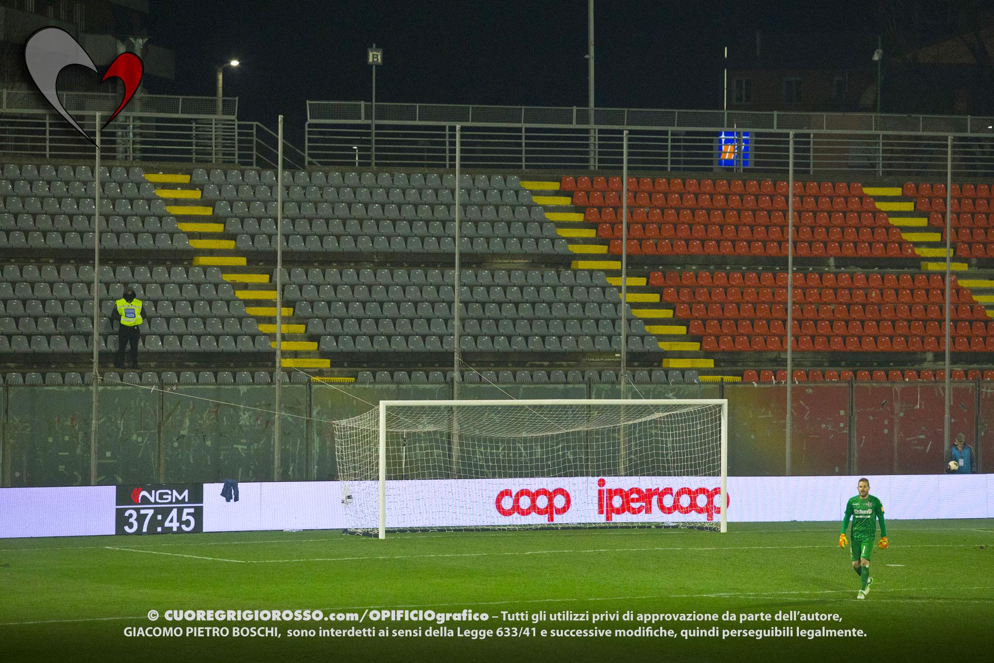 Coppa Italia, Cremo-Arezzo sarà a porte chiuse