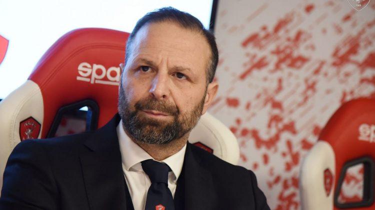 Pres. Perugia: «Il virus fa paura, giusto fermarsi»