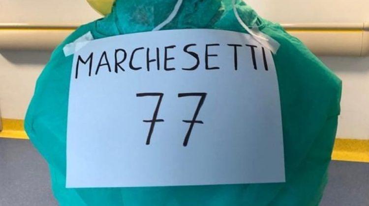 Cremona, lotta al Covid con il camice di Marchesetti