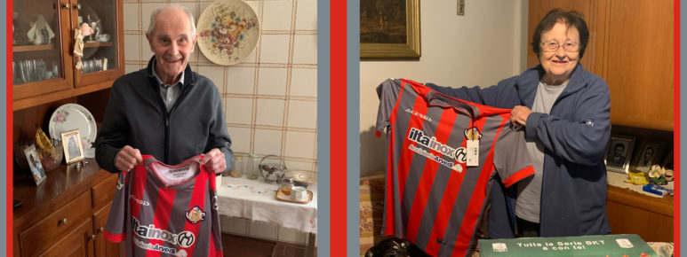 Serie B, premiati i tifosi della Cremo più longevi