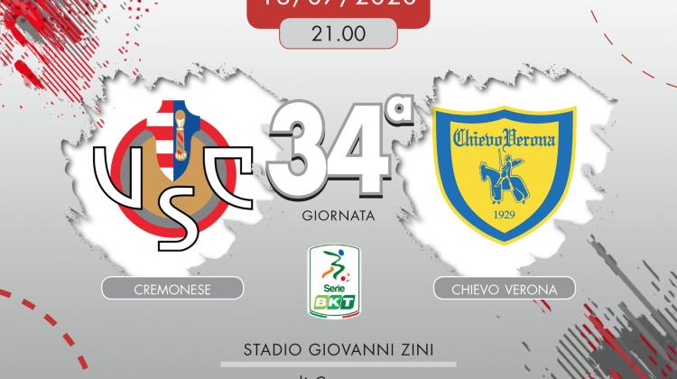 Cremonese-Chievo 1-0, tabellino e cronaca
