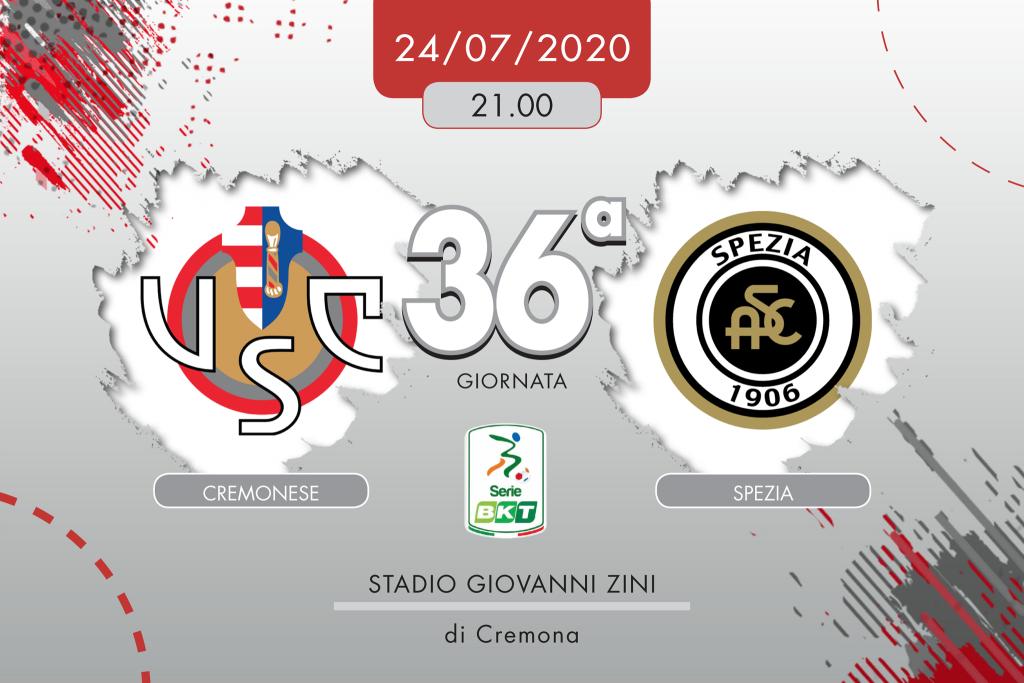 Cremonese-Spezia 0-0, tabellino e cronaca