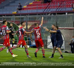 Cremonese-Pescara, le fotografie della partita