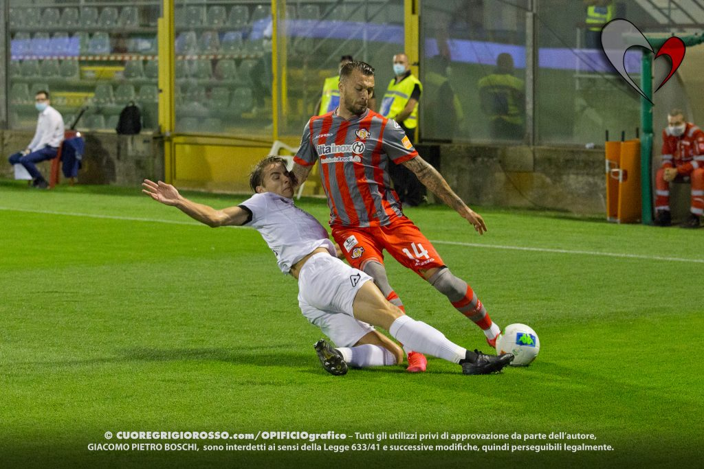 Cremonese-Spezia, le fotografie della partita