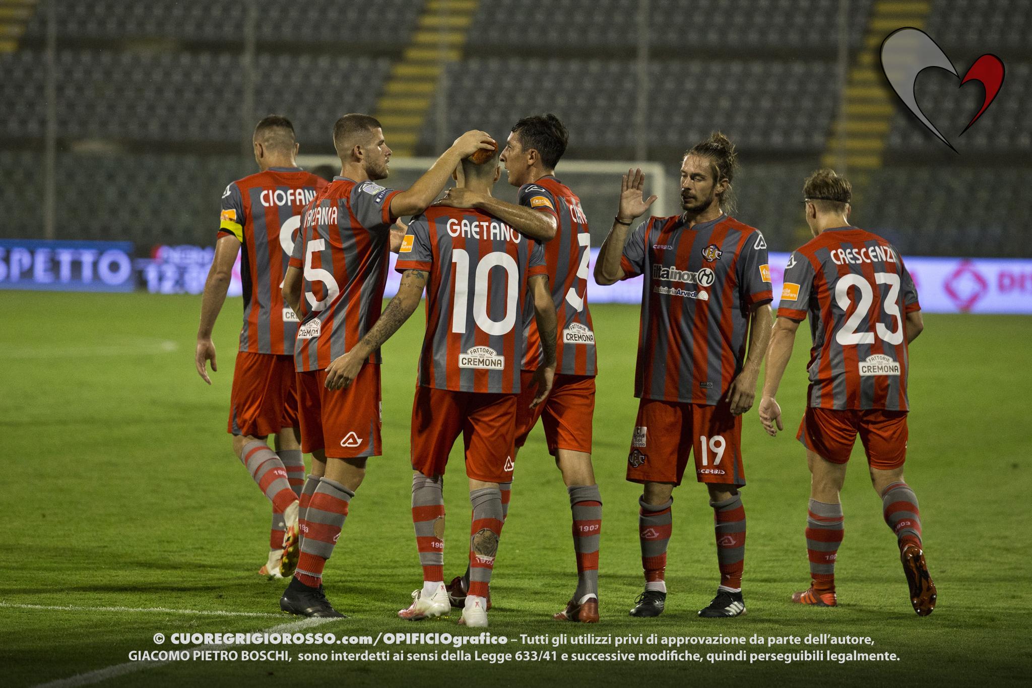 Coppa Italia, ecco quando si gioca Cremonese-Arezzo