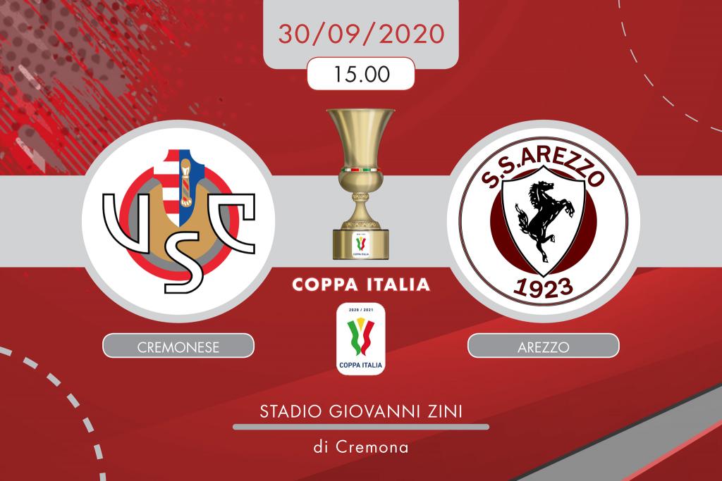 Cremonese-Arezzo 4-0, tabellino e cronaca