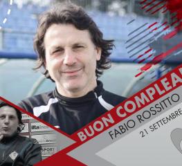 Tanti auguri a Fabio Rossitto, ex mister grigiorosso