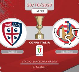 Cagliari-Cremonese 1-0, tabellino e cronaca