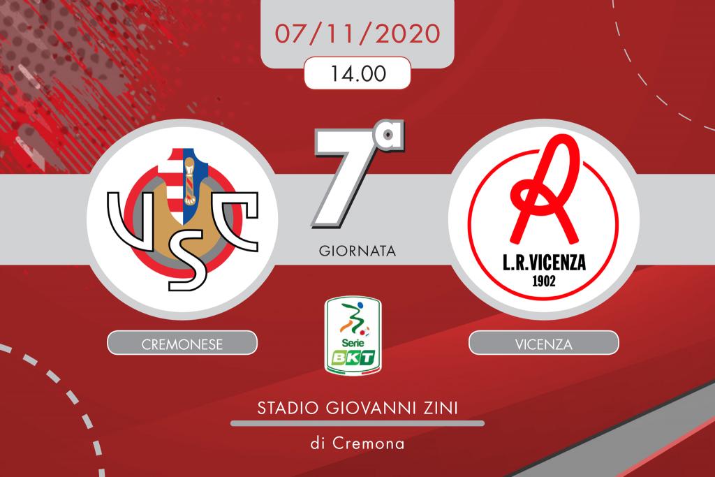Cremonese-Vicenza 0-1, tabellino e cronaca