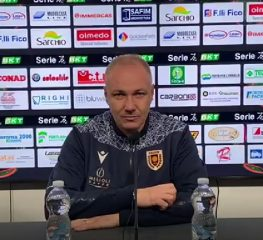 Reggiana, Alvini: «A Cremona per giocarcela»