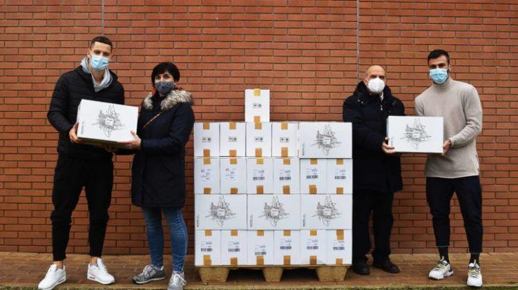 Cremo, donata pasta alla Caritas ed Eco Company