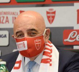 Monza, Galliani: «Certo che la Cremo si riprenderà»