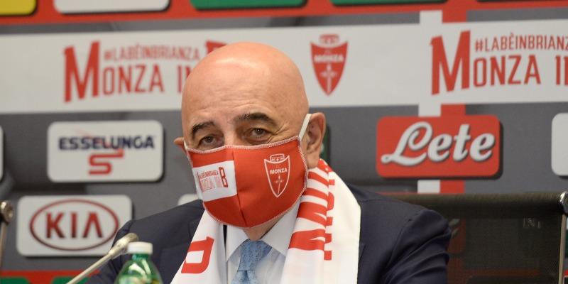 Galliani: «La Cremonese ha giocato meglio del Monza»