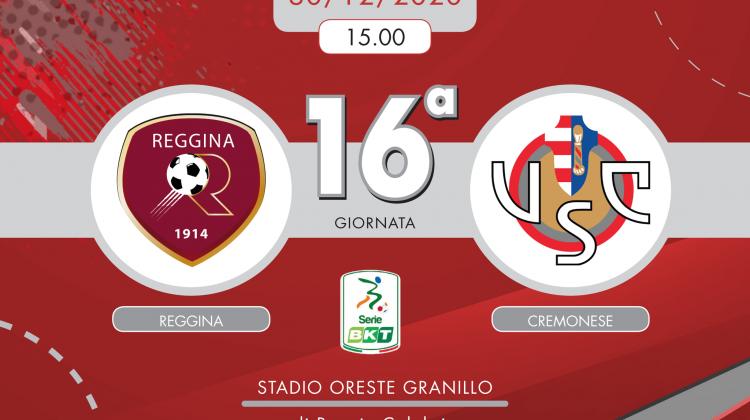 LIVE Reggina-Cremo 1-0, finisce qui