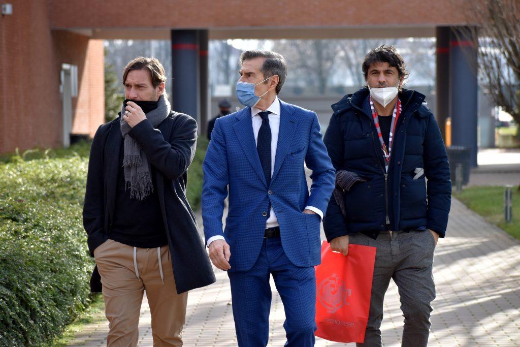Cremo, Francesco Totti ospite al Centro Arvedi [FOTO]