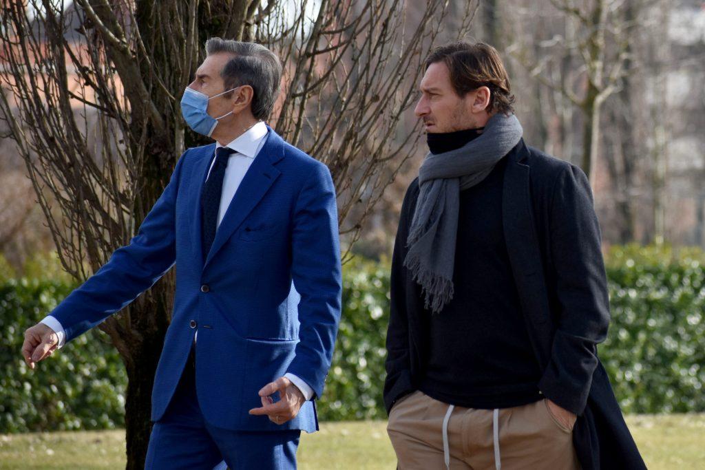 Totti: «Coccolo è un giocatore promettente»