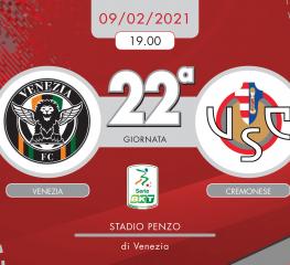 Venezia-Cremonese 3-1, tabellino e cronaca