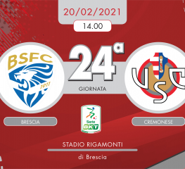 Brescia-Cremonese 1-2, tabellino e cronaca