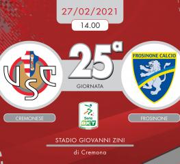 Cremonese-Frosinone 4-0, tabellino e cronaca