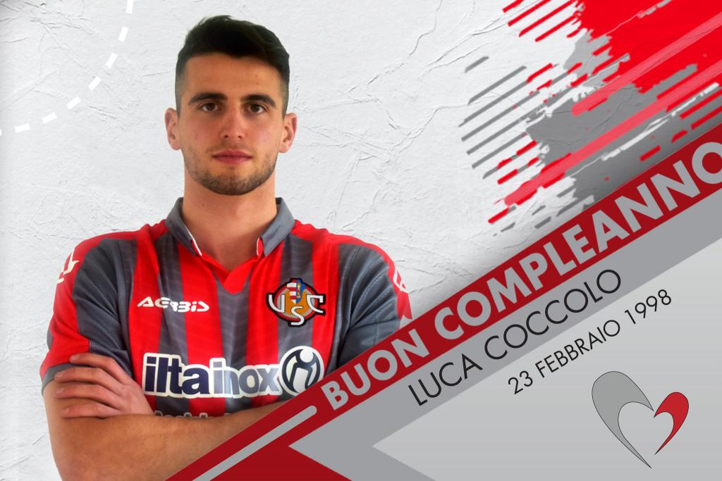 Auguri a Luca Coccolo, difensore grigiorosso