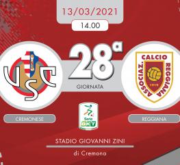 Cremonese-Reggiana 3-0, tabellino e cronaca