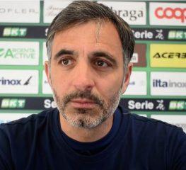Pecchia: «Non siamo quelli visti con il Perugia»