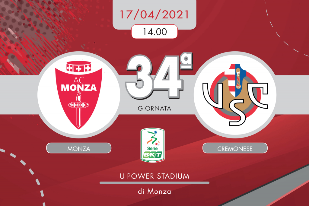 Monza-Cremonese 2-1, tabellino e cronaca