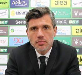 Pordenone, Domizzi: «Cremo  forte, complimenti a Pecchia»