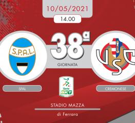 Spal-Cremonese 1-0, tabellino e cronaca