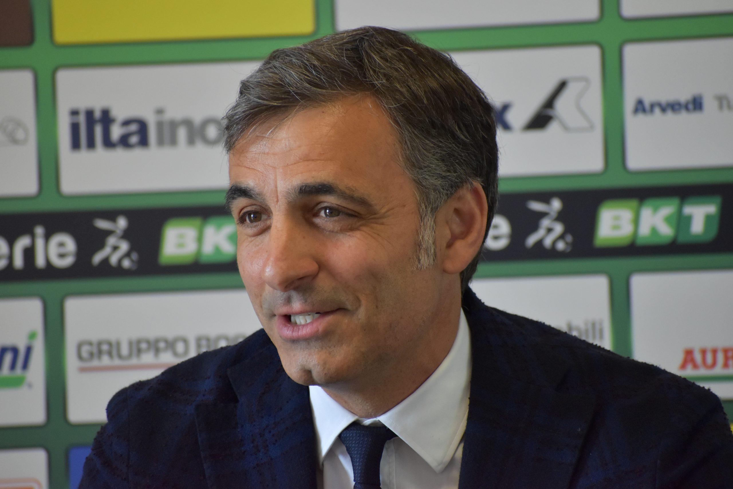 allenatori Serie B Pecchia conferenza rinnovo 1