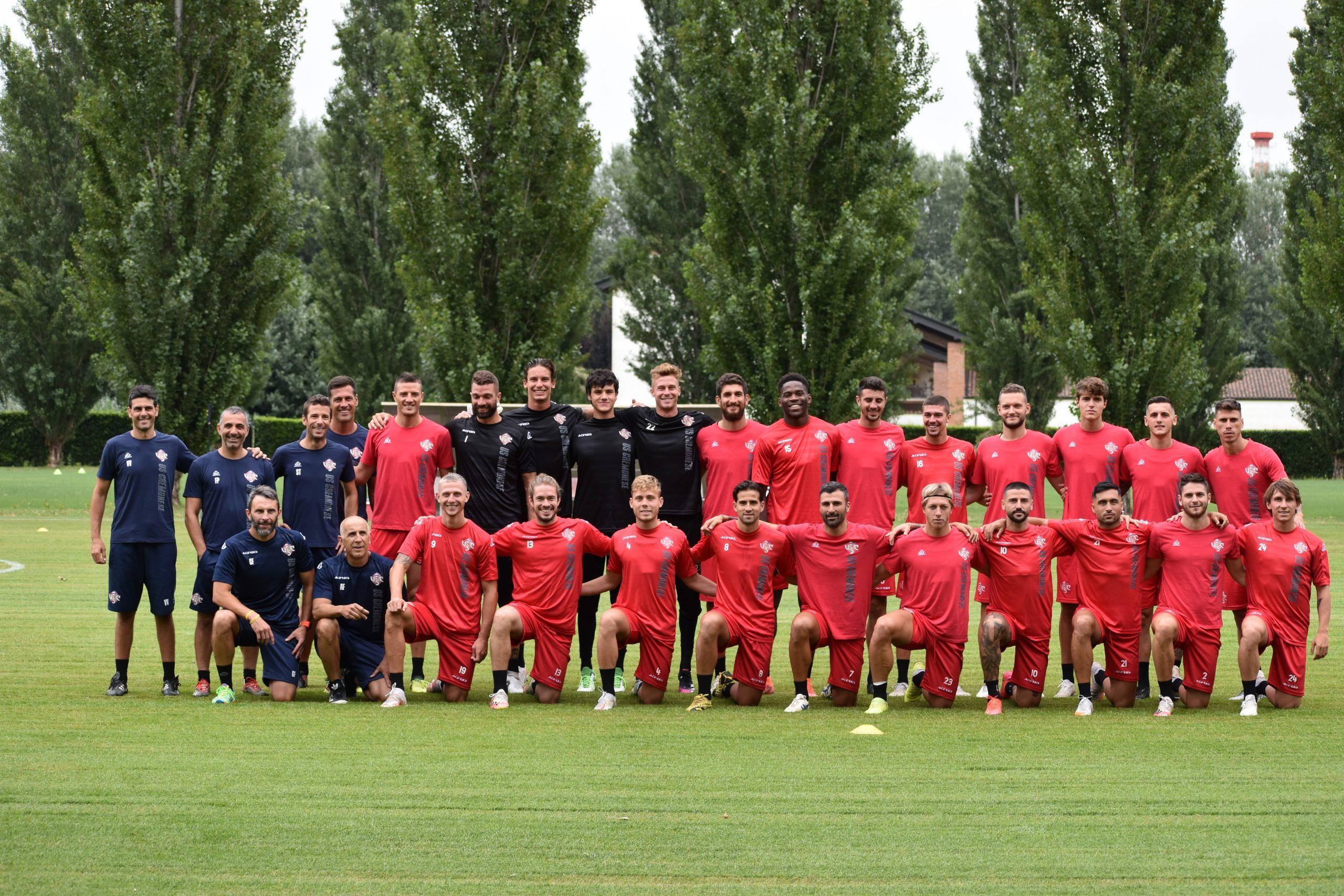Gruppone Cremonese Cremo inizio stagione 2021-22