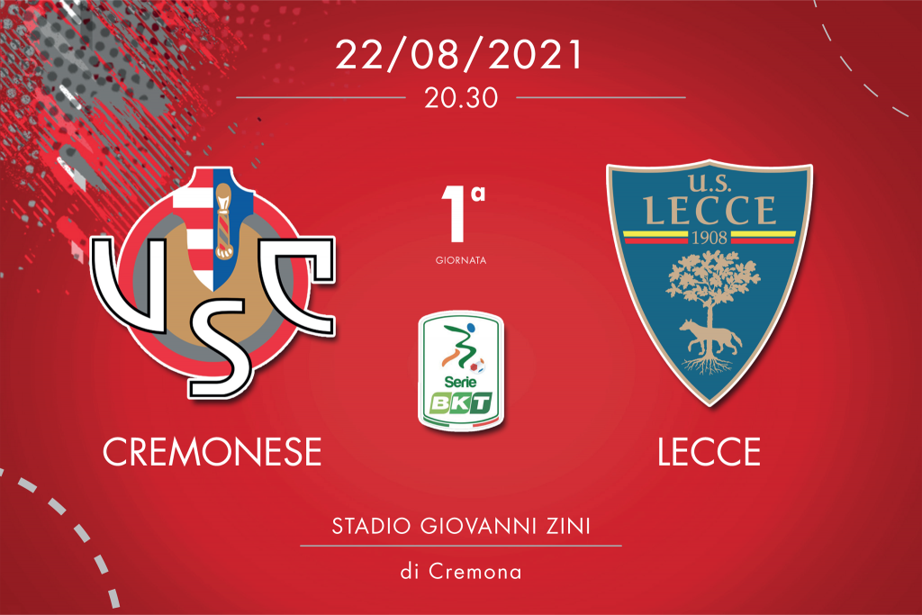 Cremonese-Lecce 3-0, tabellino e cronaca