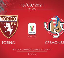 Rivivi Torino-Cremonese 4-1 dcr. Il Toro passa il turno di Coppa