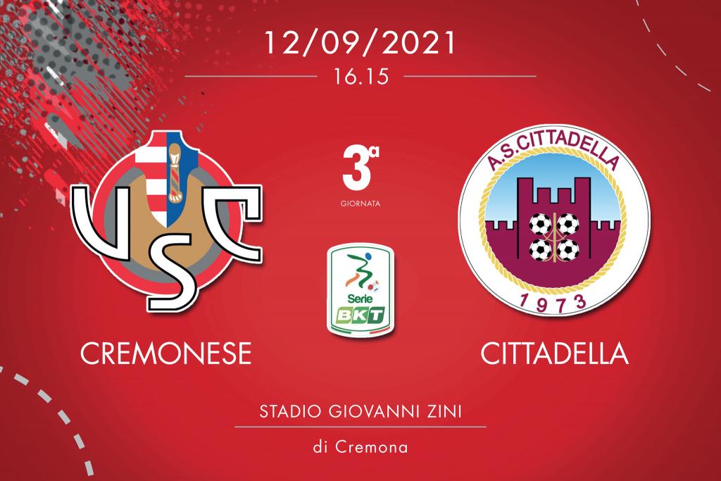 Cremonese-Cittadella 2-0, tabellino e cronaca