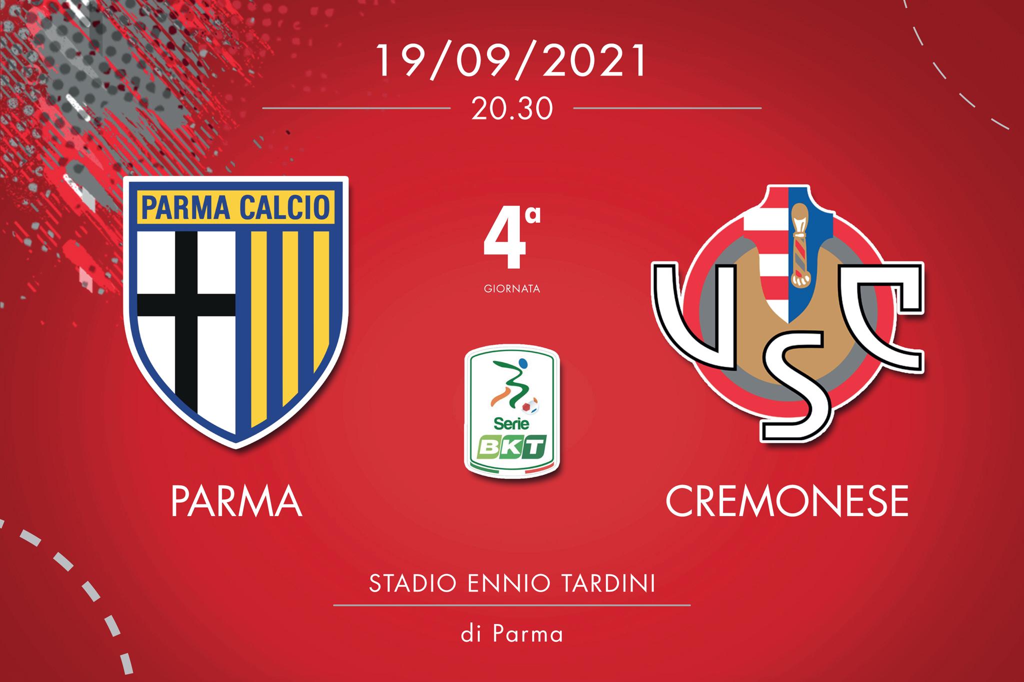 Parma-Cremonese, tabellino e cronaca