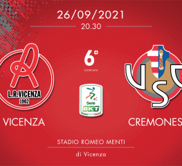Vicenza-Cremonese 0-1, tabellino e cronaca