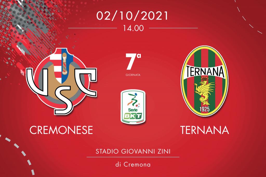 Cremonese-Ternana 2-0, tabellino e cronaca