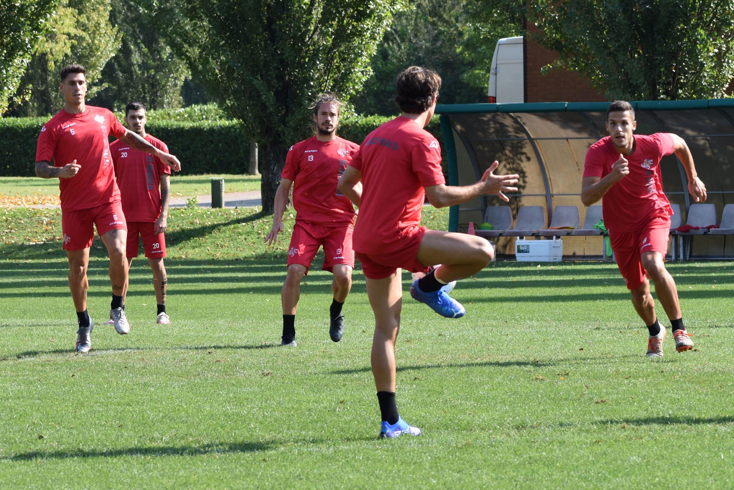 Cremo, penultimo allenamento in vista del Parma